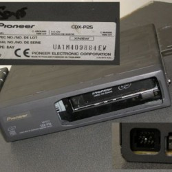 MAGAZIE PIONEER CDX-P25 CD TEXT 6 DISC